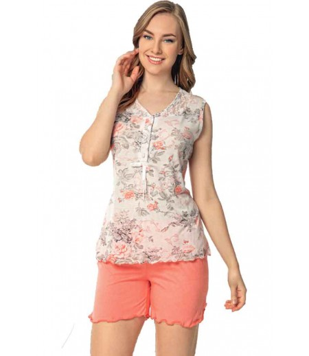 Pijama Dama Bumbac Superior 633At