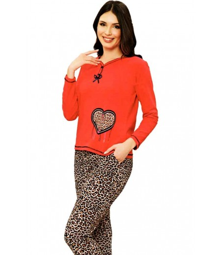 Pijama Heart Animal Print 600Bar